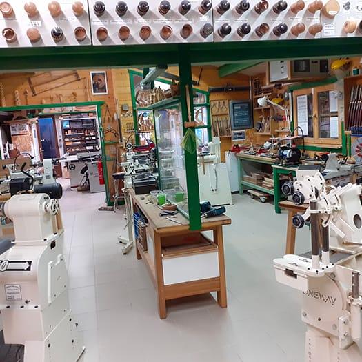 Photo de l'atelier coin Tournage sur bois
