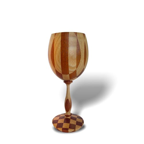 Un verre en bois